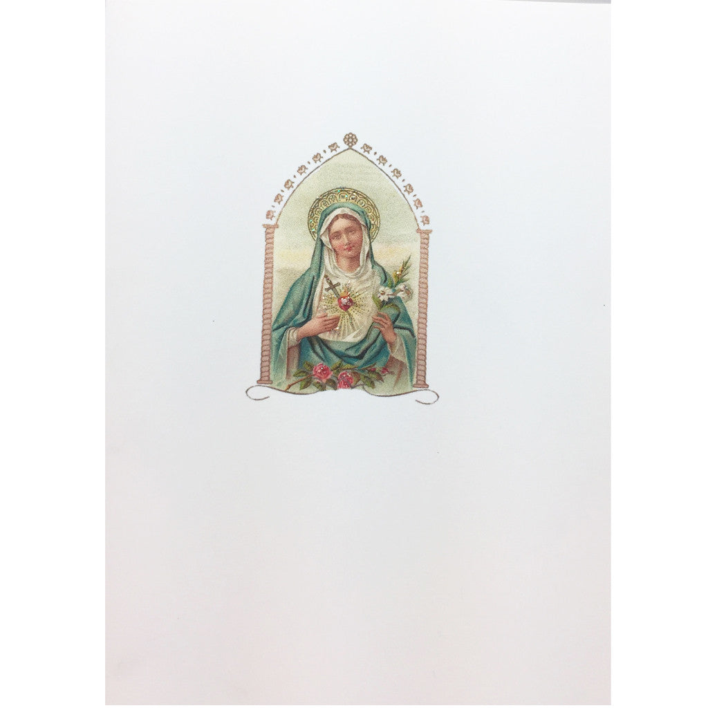 Immaculate Heart Card