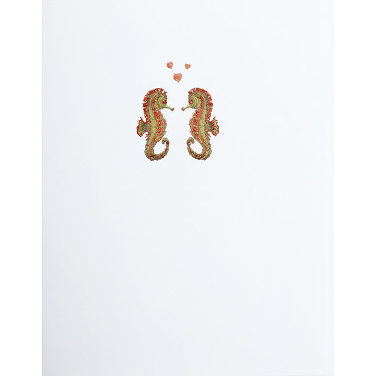 Greeting Card Seahorses - Lumia Designs