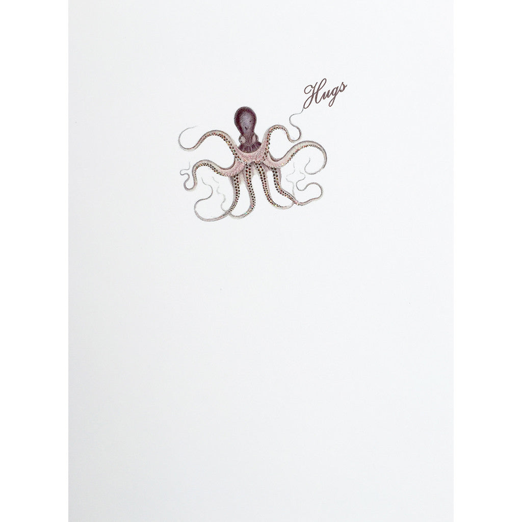 Greeting Card Hugs Octopus - Lumia Designs