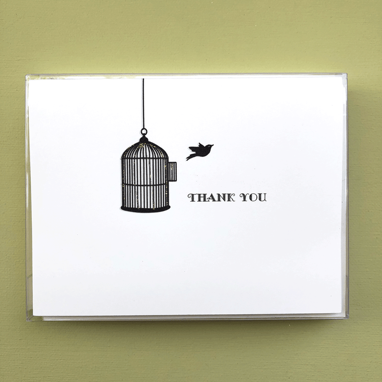 Freedbird Thank You Boxed Note Cards