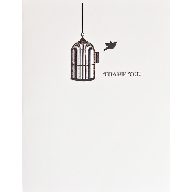 Greeting Card Freedbird Thank You - Lumia Designs