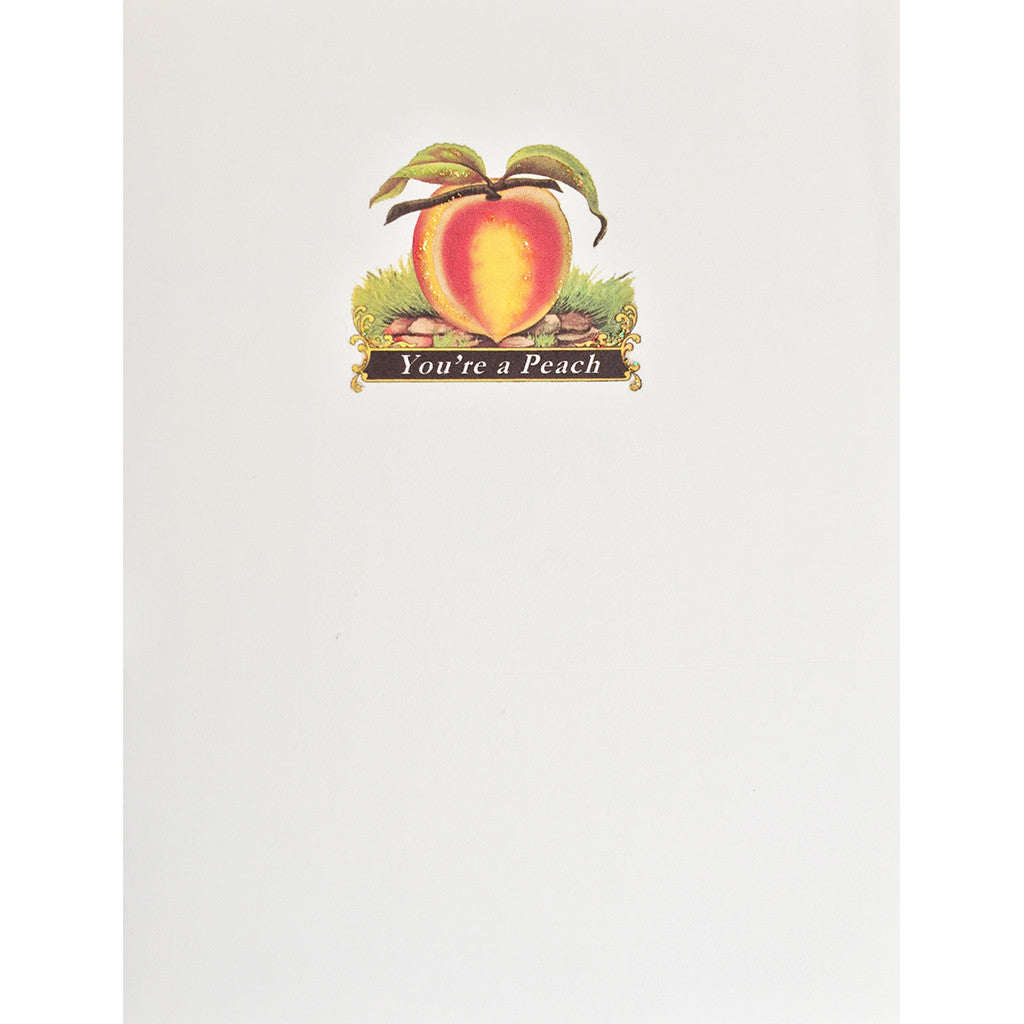 Greeting Card You're a Peach - Lumia Designs
