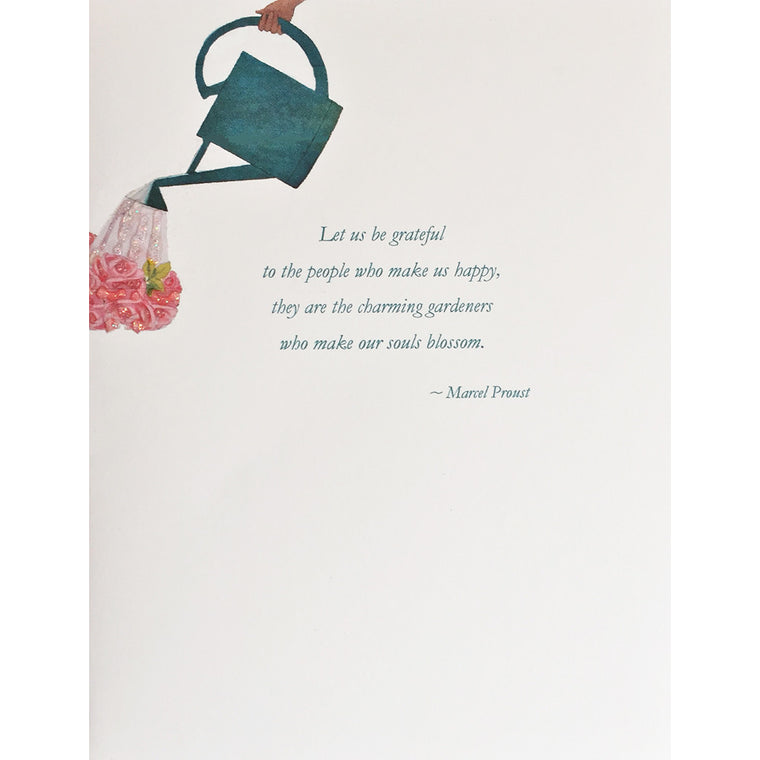 Gardeners  Friendship Card- Lumia Designs