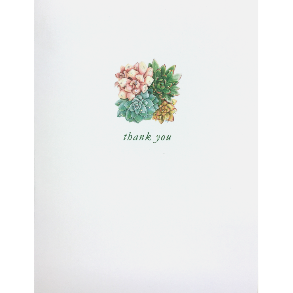 Succulent Thank You