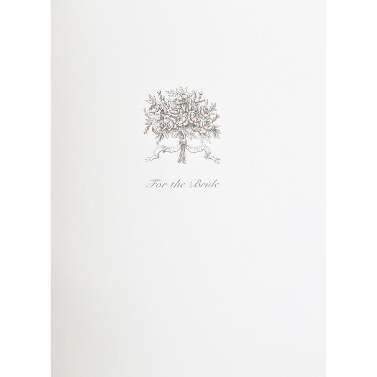 Greeting Card For the Bride Bouquet - Lumia Designs
