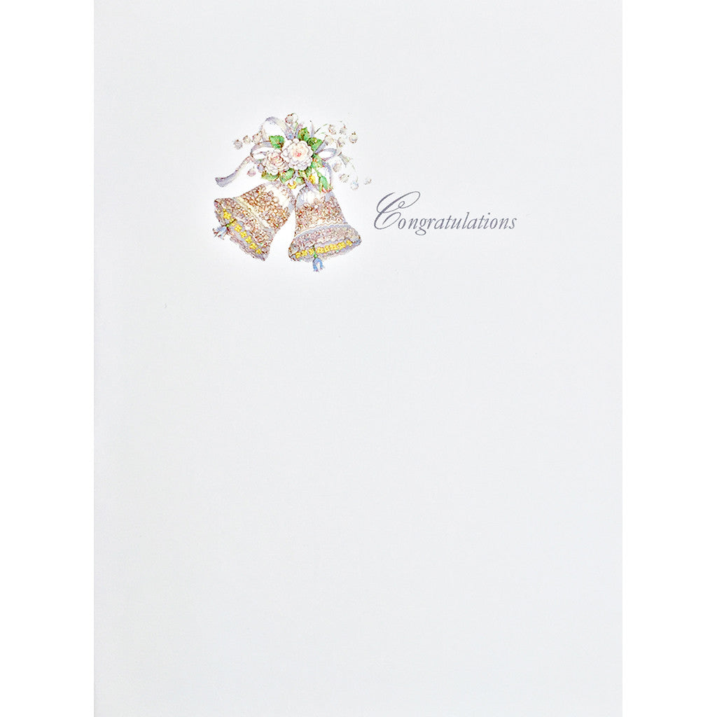 Greeting Card Wedding Bells - Lumia Designs