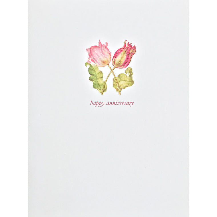 Greeting Card Tulips Anniversary - Lumia Designs