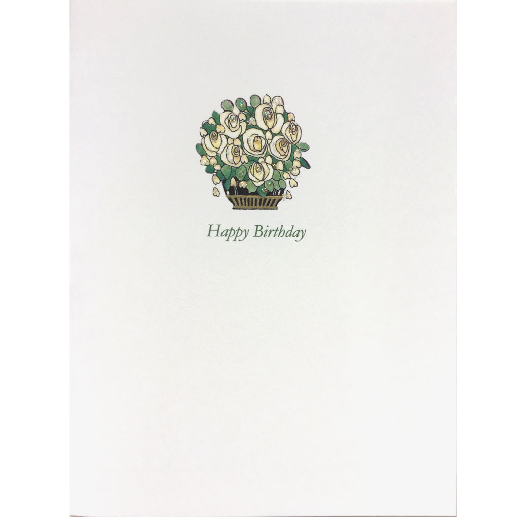 Deco Roses Birthday Card
