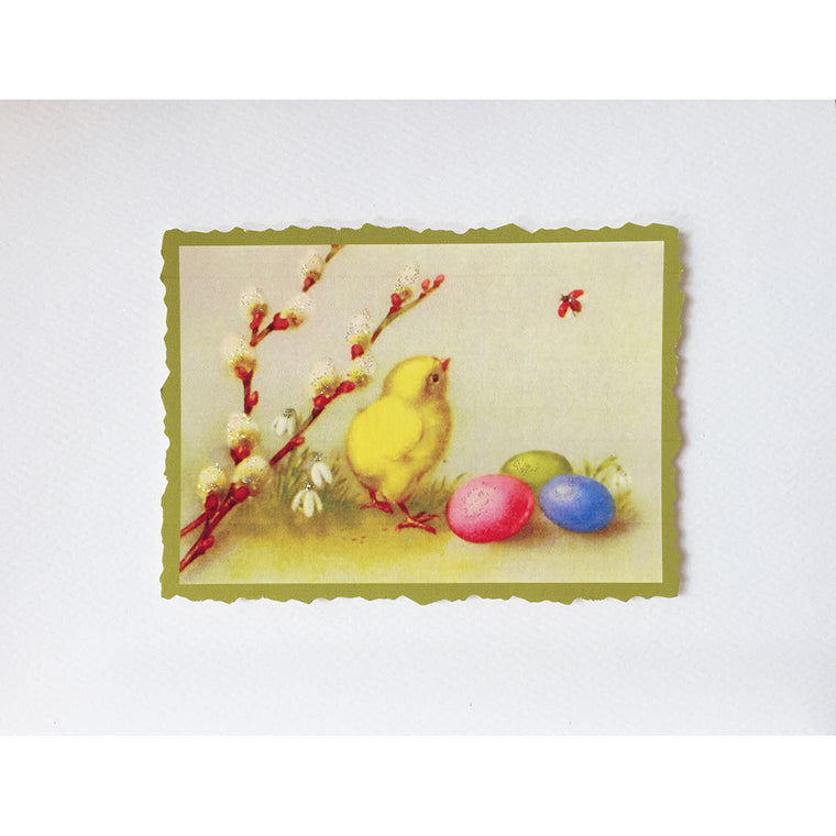 Greeting Card Easter Chick - Lumia Designs