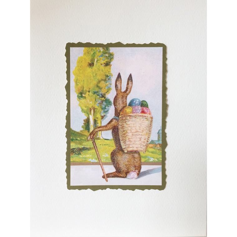 Greeting Card Cottontail - Lumia Designs