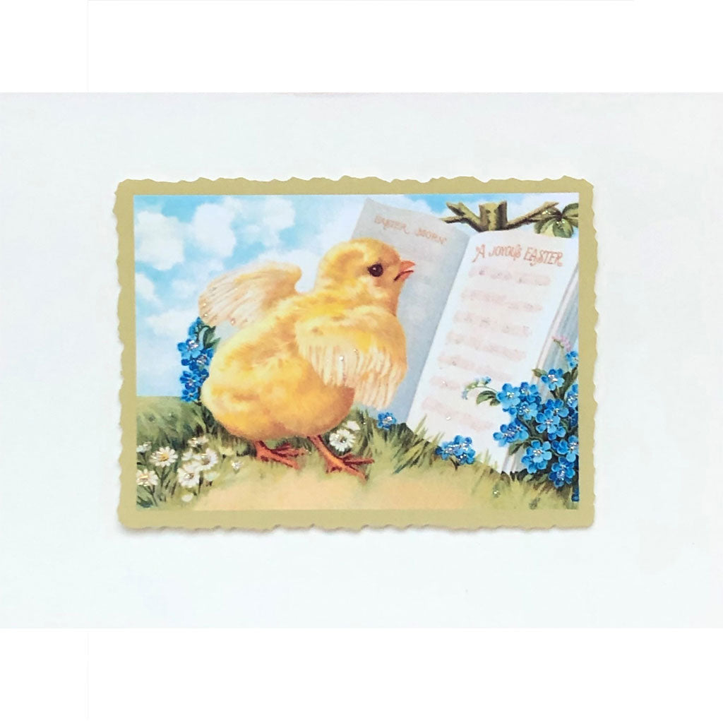 Baby Chick with Songbook Card