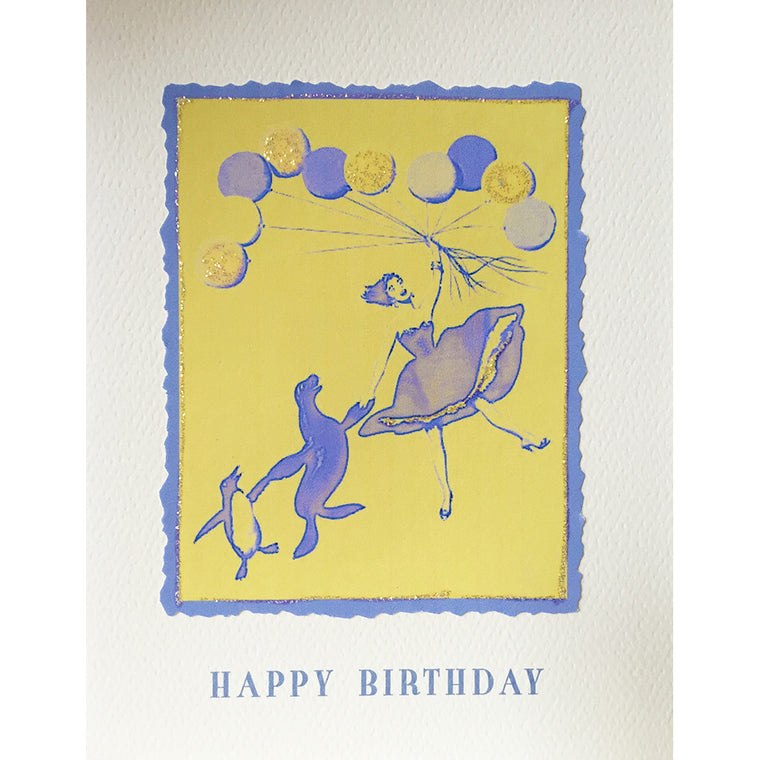 Greeting Card Balloon Friends - Lumia Designs