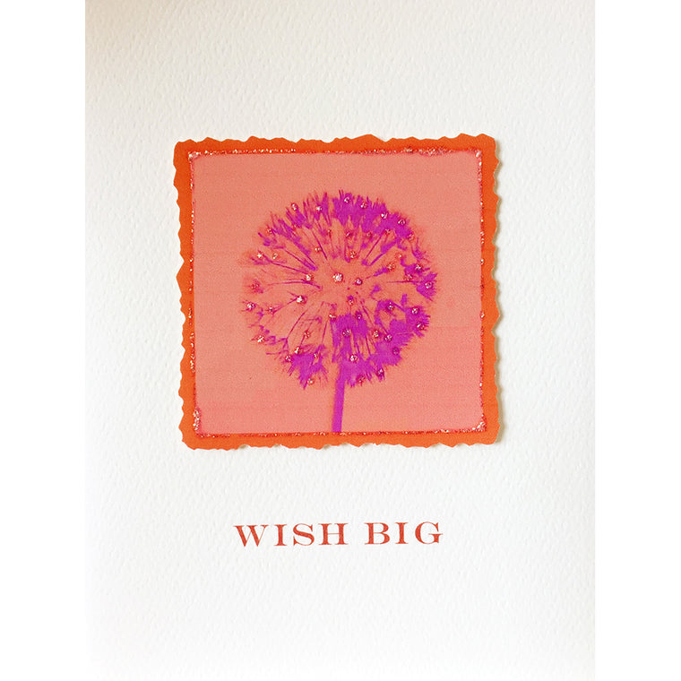 Greeting Card Wish Big - Lumia Designs