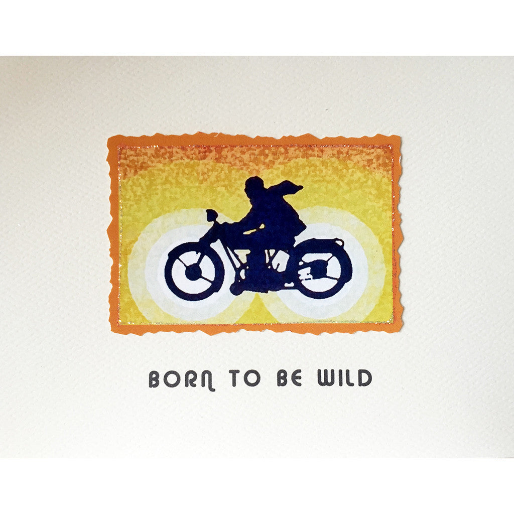 Greeting Card Born Wild Birthday Card - Lumia Designs