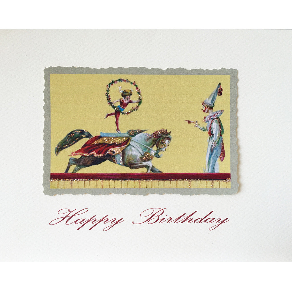Greeting Card Circus Birthday - Lumia Designs