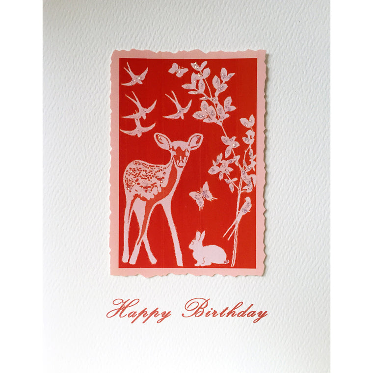 Greeting Card Forest Friends - Lumia Designs