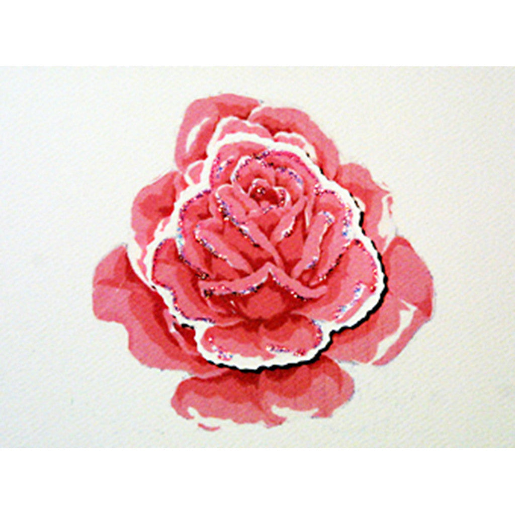 Greeting Card The Rose - Lumia Designs