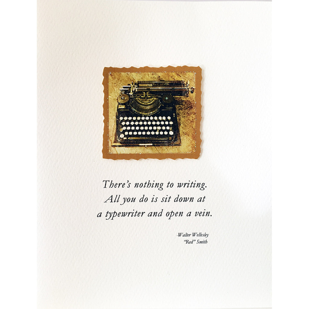Greeting Card Writer Quote - Lumia Designs