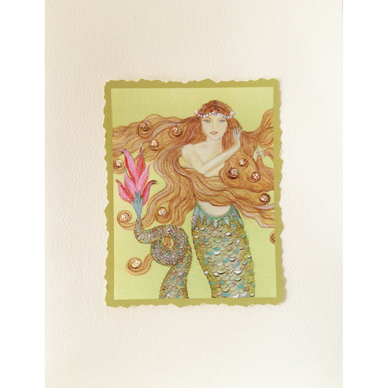 Mermaid Greeting Card Lorelei - Lumia Designs