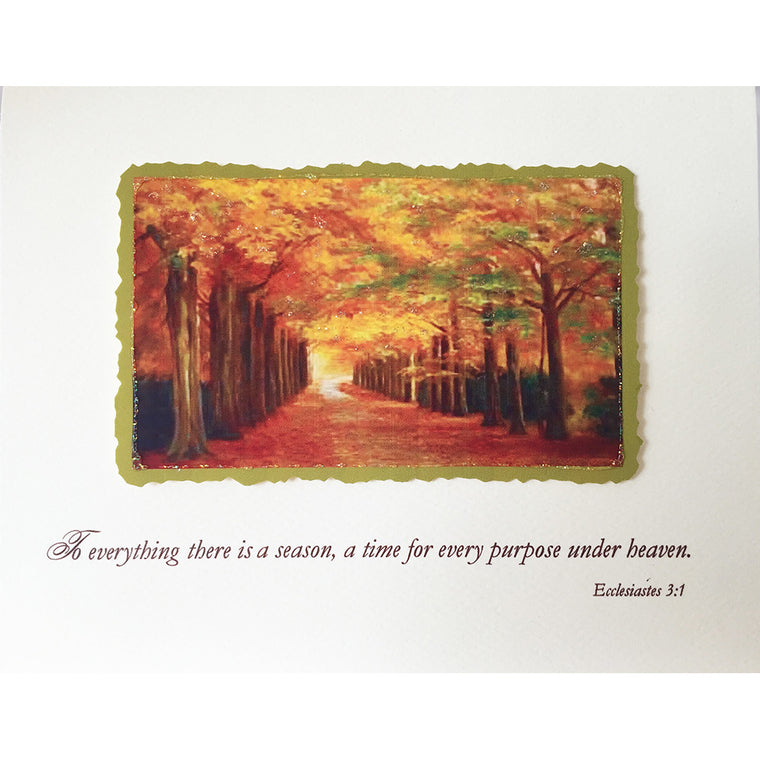 Greeting Card Autumn Sympathy - Lumia Designs