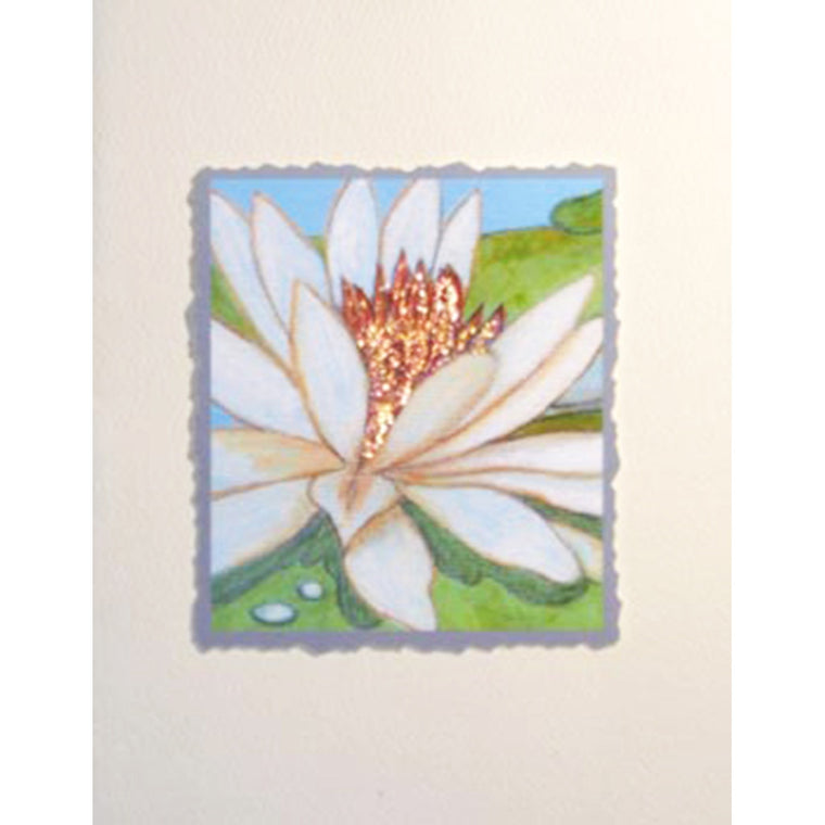 Greeting Card Lotus Flower - Lumia Designs