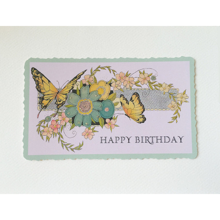 Butterflies Birthday Card Lumia Designs