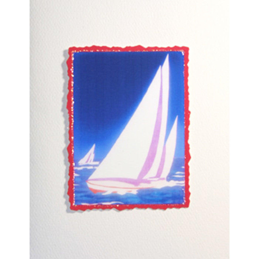 Greeting Card Sailboats - Lumia Designs