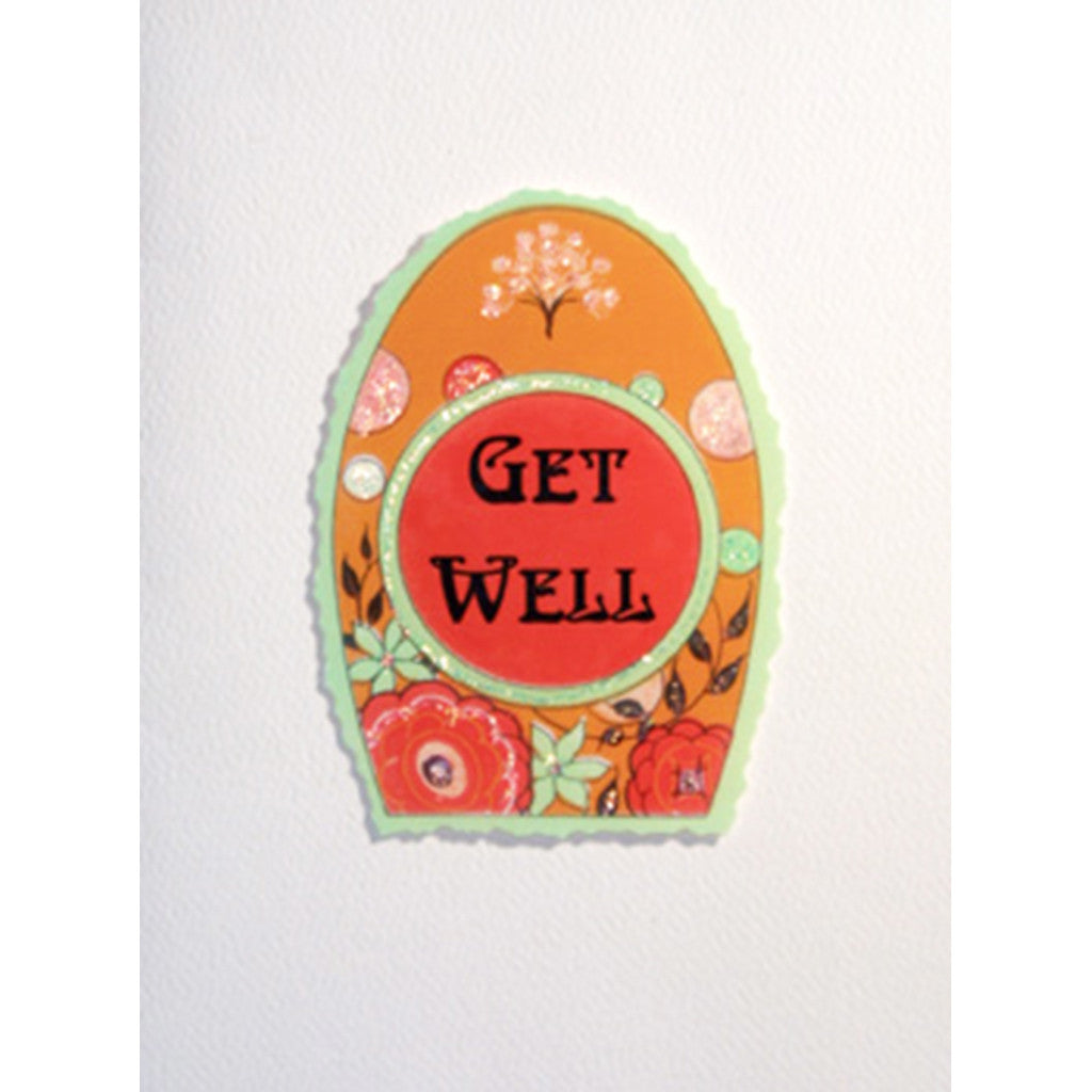 Greeting Card Get Well - Lumia Designs