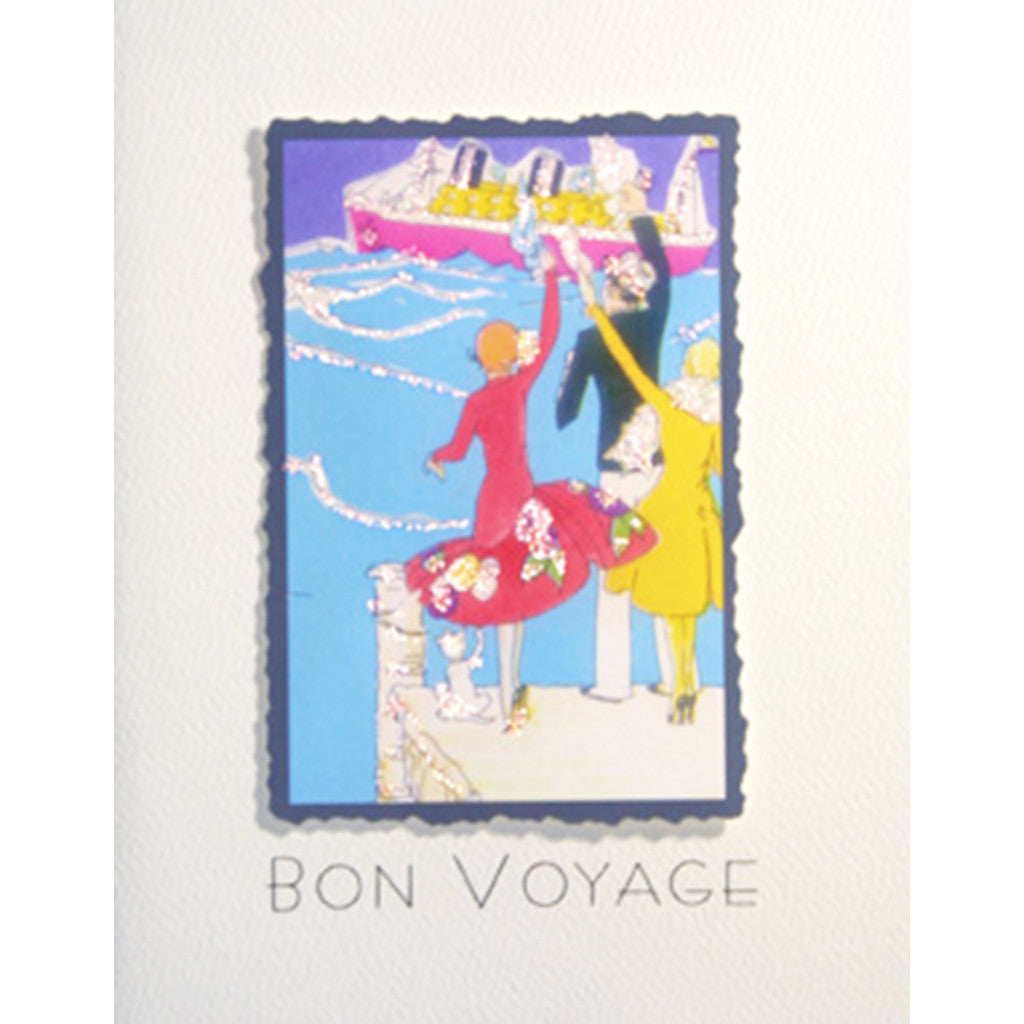 Greeting Card Bon Voyage - Lumia Designs