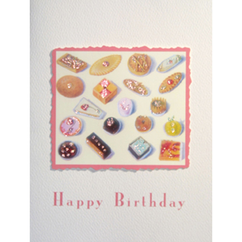Greeting Card Pastry Time Birthday - Lumia Designs