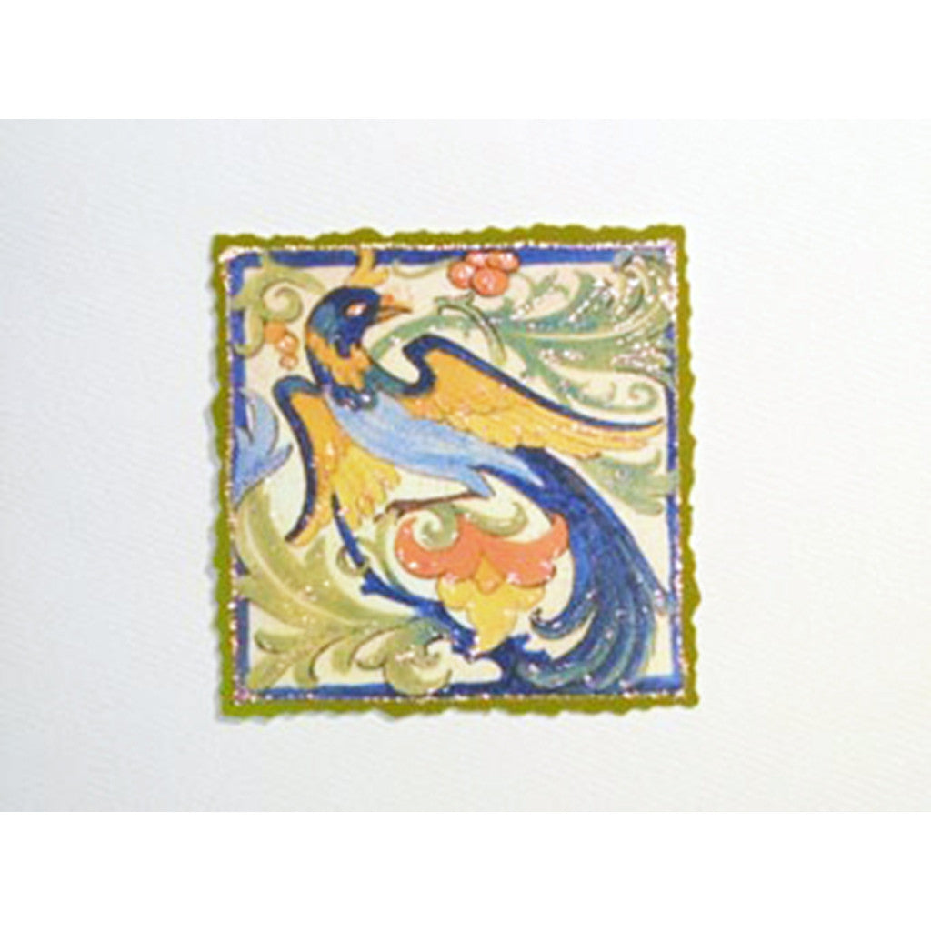 Greeting Card Exotic Bird - Lumia Designs