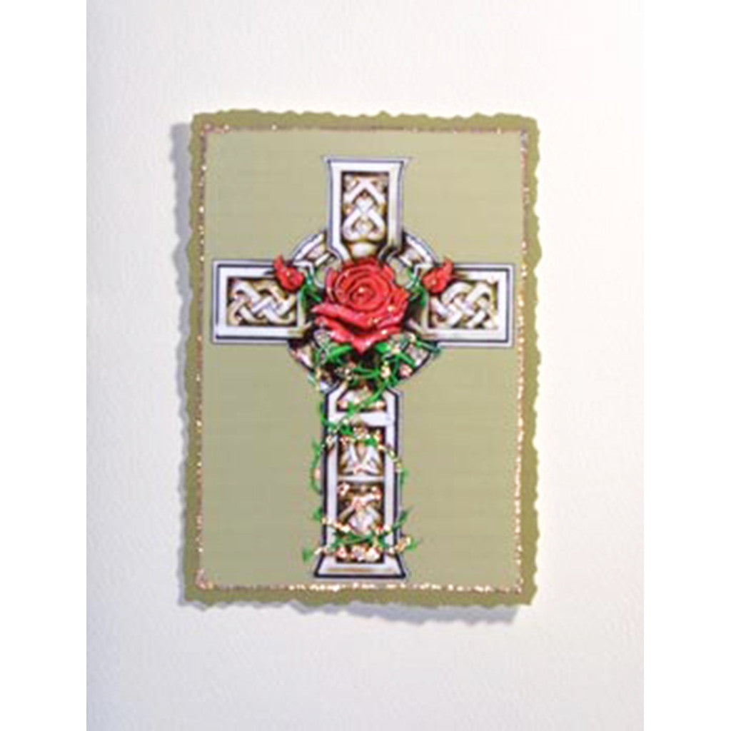 Greeting Card Celtic Cross - Lumia Designs