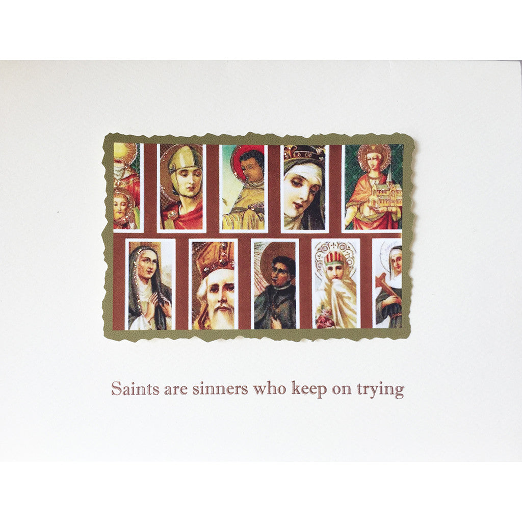 Greeting Card Saints & Sinners - Lumia Designs
