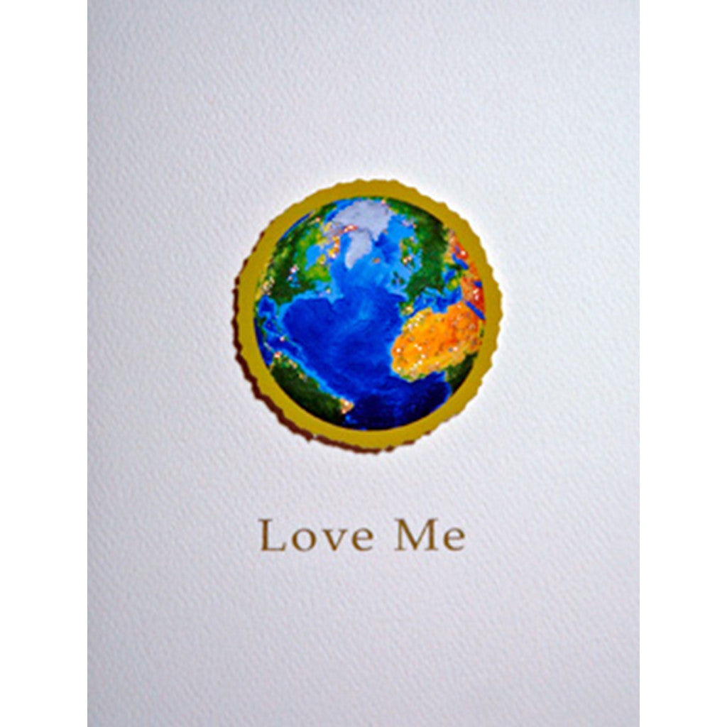 Greeting Card Earth Love - Lumia Designs