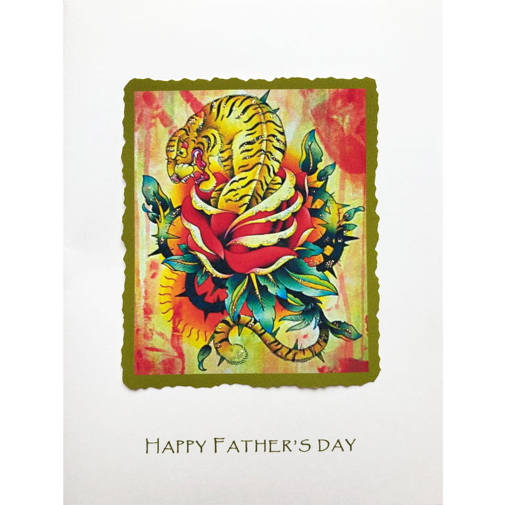 Tiger Rose Father's Day