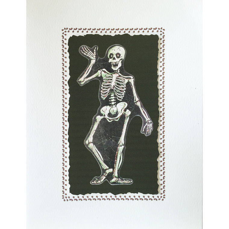 Greeting Card Skeleton - Lumia Designs