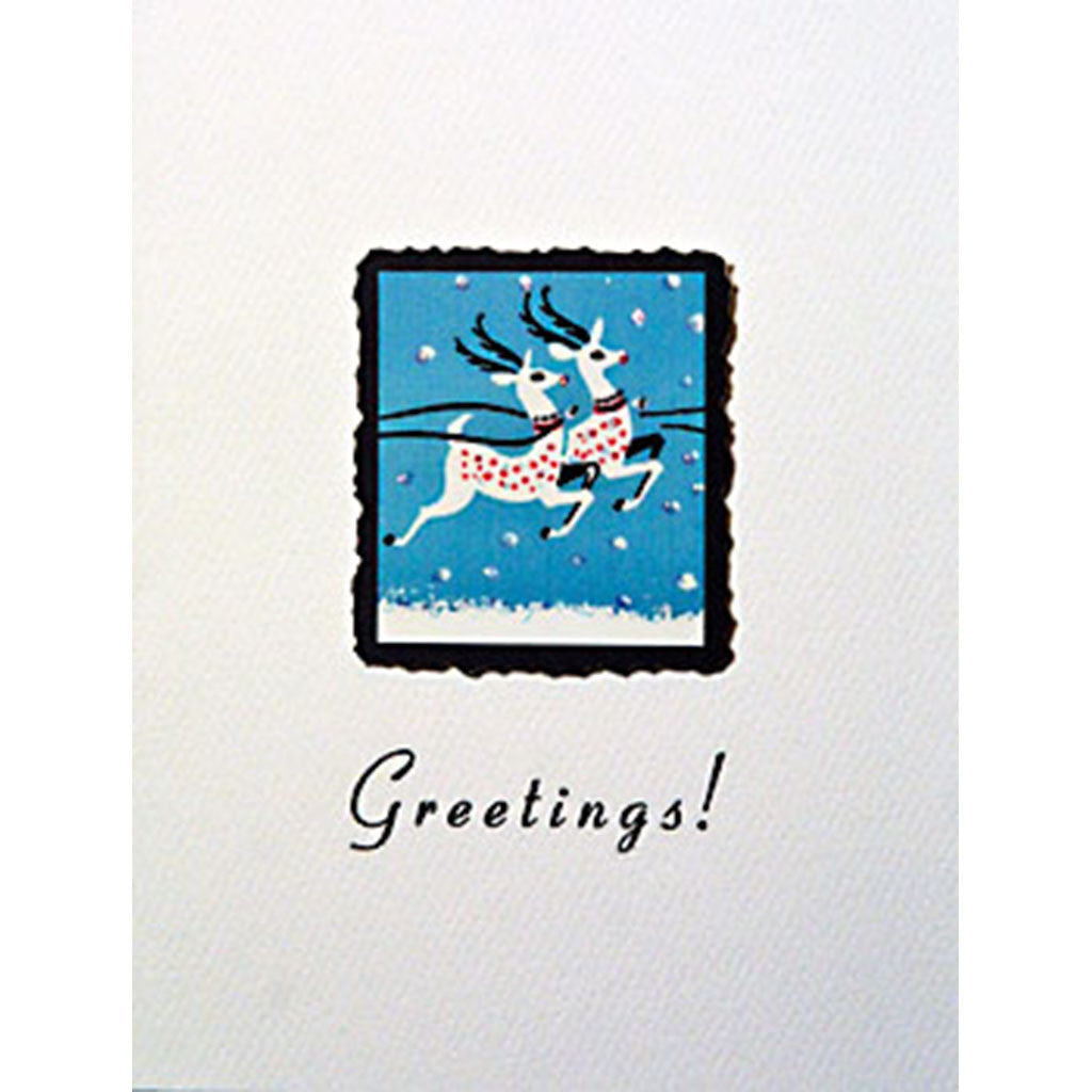 Greeting Card Dancer & Prancer - Lumia Designs