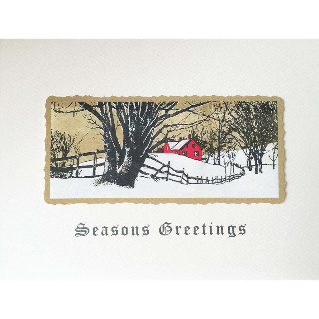 Greeting Card Country Road - Lumia Designs