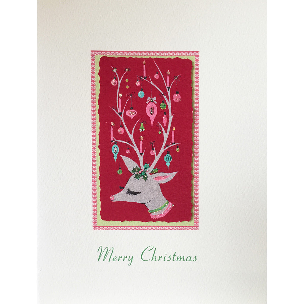 Greeting Card Holiday Doe - Lumia Designs