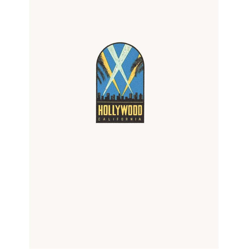 Hollywood Lights Card