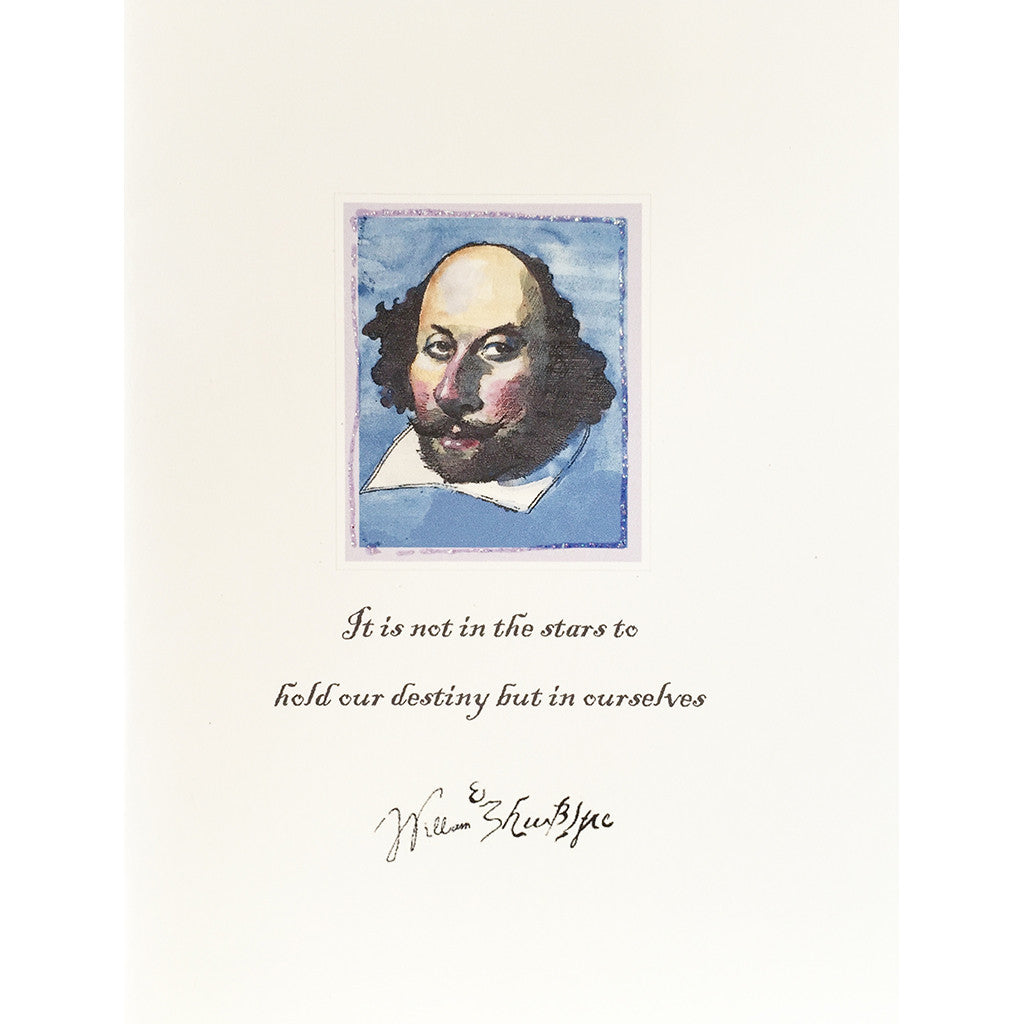 Greeting Card Shakespeare - Lumia Designs