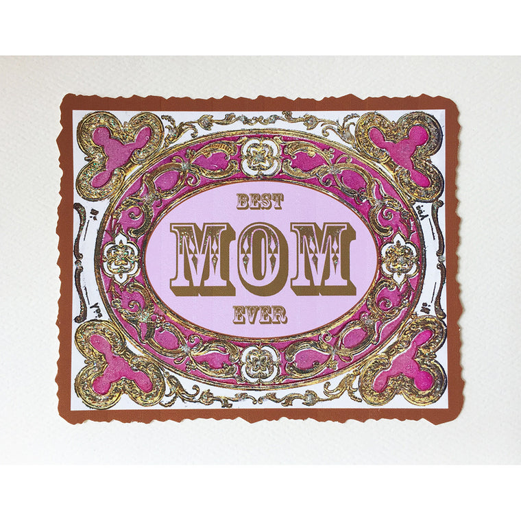 Best Mom Ever Greeting Card  Lumia Designs
