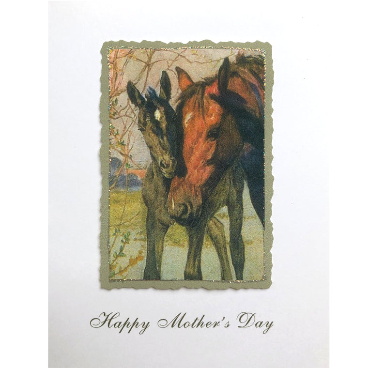 Horses Greeting Card Lumia Designs