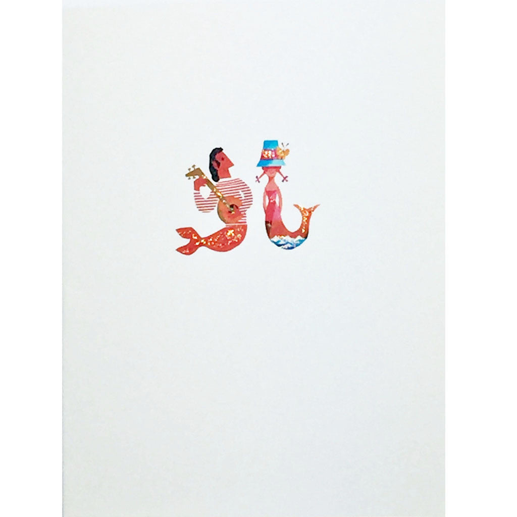 Mermaid Music Greeting Card