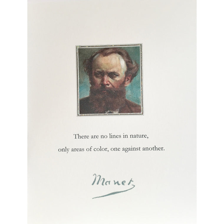 Greeting Card Manet - Lumia Designs