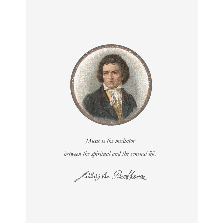 Beethoven Greeting Card Lumia Designs