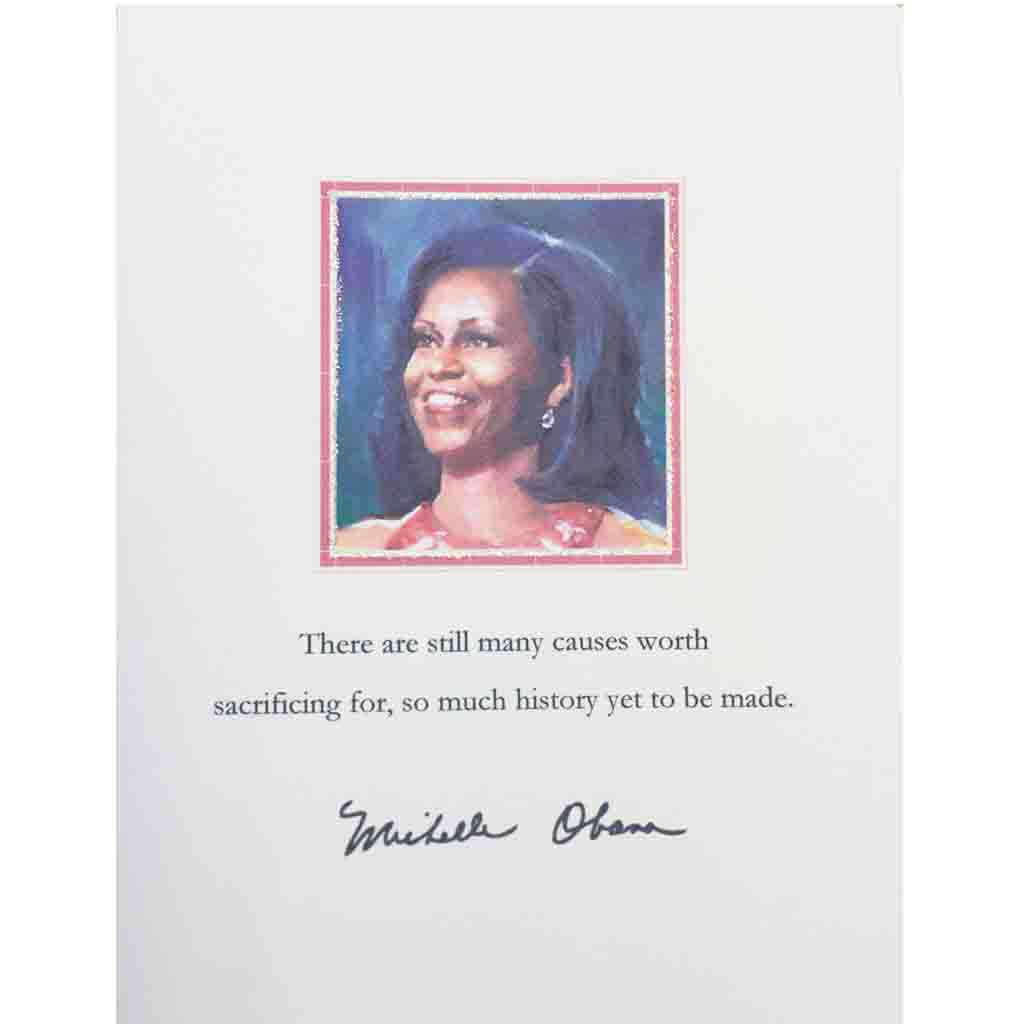 Michelle Obama Quote Card