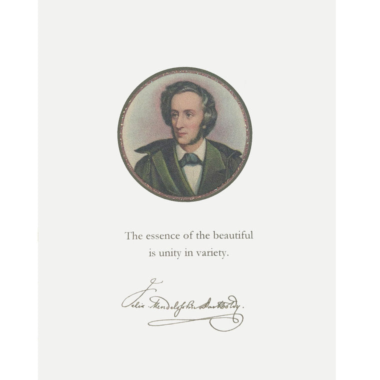 Mendelssohn Quote Card