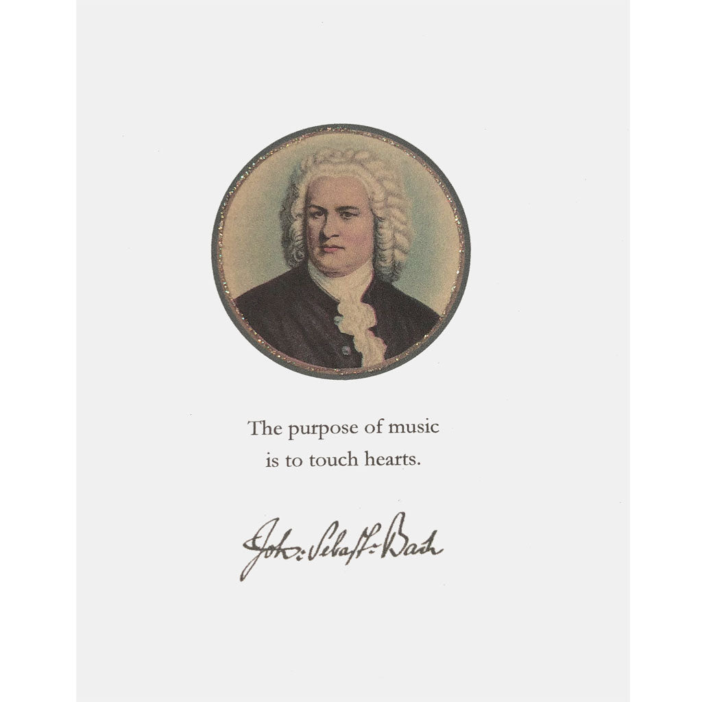 Bach Greeting Card Lumia Designs