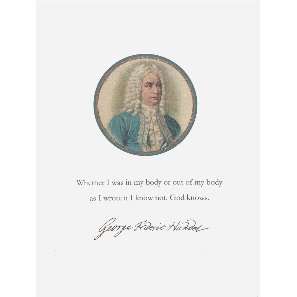 Handel Greeting Card Lumia Designs
